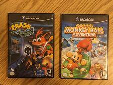GameCube Games - Crash Bandicoot & Super Monkeyball