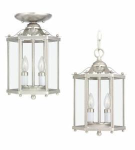 Sea Gull Lighting 5232-962 Bretton Hanging Pendant Light - Brushed Nickel
