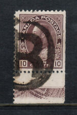 Canada #116 Very Fine Used Lathework C With Ideal Registered Cancel
