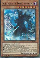 YU-GI-OH CARD: MAGICIAN OF DARK ILLUSION - SUPER RARE - MP17-EN072 1ST EDITION