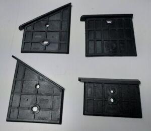Scheppach Skid Plates Kunsstoffführung Set 4 PC 3905301014 Log Splitter