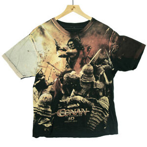 Conan the Barbarian in 3D Large All Over Print Movie Promo T Shirt