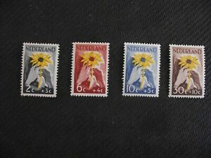 Netherlands 1949  Red Cross and Indonesian Relief Fund Set.