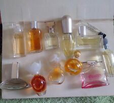 Vintage Used Mini Perfume Glass Bottles FRANCE, Prada,Calvin Klein,Estee Lauder
