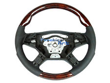 Mercedes W164 ML R GL Class Sport Steering Wheel Burl Walnut Wood(US Stock)