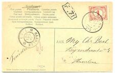 NEDERLAND 1906  AK   GR STEMPEL = SANTPOORT (DORP) =  PRACHT