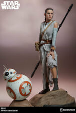 Sideshow Star Wars The Force Awakens Rey & BB-8 Premium Format Figure Statue Set