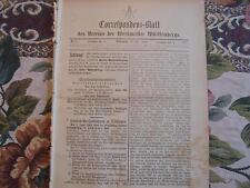 1891 ...Württemberg 6 / Reklame Blaubeuren Cannstadt Stuttgart