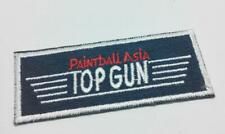 Embroidered Paintball Asia Top Gun Fabric Clothes Patch (A944)