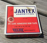 X2 VELOX JANTEX TUBULAR RIM TAPE MADE IN FRANCE REF. 40 NOS NIB VINTAGE BICYCLE