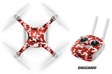 DJI Phantom 4 Drone Wrap RC Quadcopter Decal Sticker Custom Skin Accessory DC R