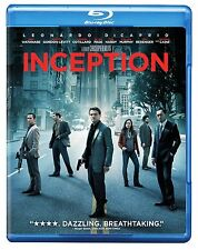 INCEPTION (Blu-ray, 2-Disc Set, 2010) with LEONARDO DICAPRIO - Fast Shipping