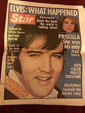 Elvis Presley, The Star, full newspaper, September 6, 1977