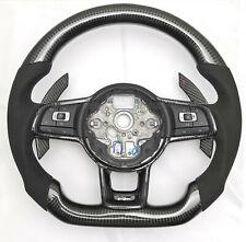 Carbon Lenkrad für VW Golf MK7 R GTI GTD VII  Tausch Carbonfiber steering wheel