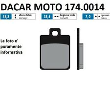 174.0014 PLAQUETTE DE FREIN POUR RACE POLINI VESPA 125 LX 3V c.-à- à partir de