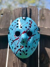 Jason Voorhees Nintendo Bloody Custom Painted Mask -high Quality