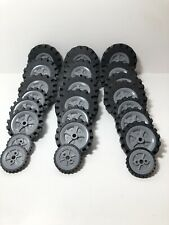 Knex Tyres Wheels Bulk Mixed Sizes