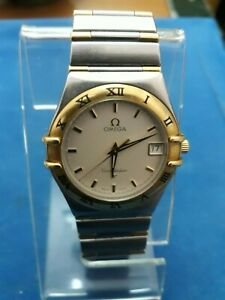 Omega mens constellation watch