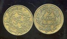 TUNISIE   2 francs  1926