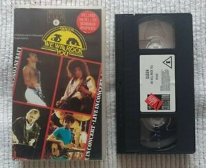 QUEEN - We Will Rock You - Live Concert - VHS