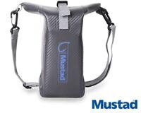 Mustad Dry Bag 2 - 3L Fishing Sack Waterproof Roll Top MB009 Grey/Blue