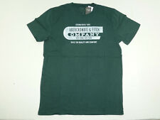 Abercrombie & Fitch Company Logo Green T-Shirt Men's M ~NWT~