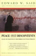 Peace And Its Discontents: Essays on Palestine in the Middle East Peac-ExLibrary