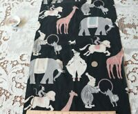 "Rare c1930s Vintage Circus Printed Cotton Conversational Fabric~L-58"" X W-14"""