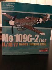 Ltd. Ed. MIB Dragon Warbirds Me 109G-2 Trop II./JG 77 Gabes Tunisia 1943 #50068