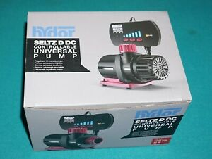 Hydor Seltz D DC Controllable Universal Pump 1000GPH New & Complete In Box.
