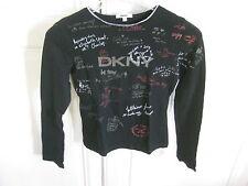 T-shirt manche longues DKNY filles 10 ans