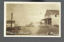 Tamarack MINNESOTA RP 1930 MAIN STREET nr McGregor Moose Lake Cloquet Cromwell