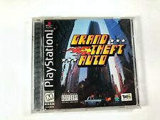 Grand Theft Auto Sony PlayStation 1 1998 Cib Complete Ps1 Video Game Tested