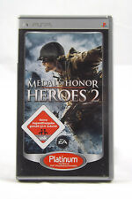 Medal Of Honor: Heroes 2 (Sony Playstation Portable) PSP Spiel OVP, PAL, CIB GUT