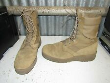 Rocky Hot Weather Army Combat Boots Coyote Mens Size 12-R Made in Usa Nice