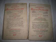 """CELINE """"Entretiens avec le Professeur Y."""" Nouvelle Revue Française,1954. 2 Vol."""