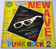 Philippines NEW WAVE DISCO VOL. II Ft. PUNK ROCK Devo, The Cars LP Record