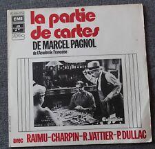 La partie de cartes / Marius - Marcel Pagnol - Tirée du film , SP - 45 tours