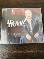 LUPILLO RIVERA EN ACUSTICO CD **BROKEN CASE** NEW!