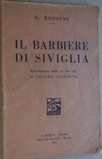 IL BARBIERE DI SIVIGLIA-MELODRAMMA BUFFO IN DUE ATTI- G.ROSSINI DI C.STERBINI