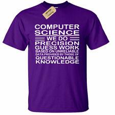 COMPUTER SCIENCE T-Shirt funny programmer coder funny C java html script Mens