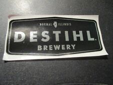 DESTIHL Silver poly hoperation overload STICKER decal craft beer brewery brewing