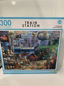 *  TRAIN STATION   *    300 PIECE JIGSAW PUZZLE ( NEW )