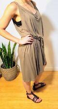 Witchery gladiator-style midi dress - light olive - size s