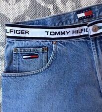Men's Vintage Tommy Hilfiger Denim Jeans Sz 32 X 32 Shout Out Band