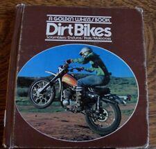 "RARE 1974 DIRT BIKES ""A GOLDEN WHEELS BOOK"" SCRAMBLERS/ENDUROS/TRIALS/MOTOCROSS"