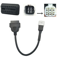 For SUZUKI OBD2 6 Pin Diagnostic Plug Adapter Motorcycle Scooter ATV Cable