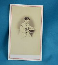 Victorian CDV Photo Carte De Visite Attractive Young Lady By Findlow Warwick