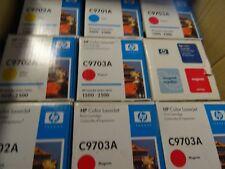 LOT de 22 toner  HP C9700A/C9701A/C9702A/C9703AHP 1500-2500 - 121A