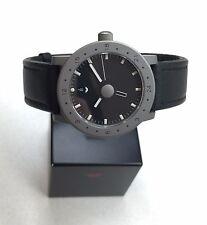 VENTURA Design on Time V-Matic Globe GMT Automatic Chronometer Titanium 39mm NEW